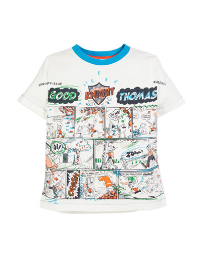 Comic Book Graphic Tee  Size 3-14