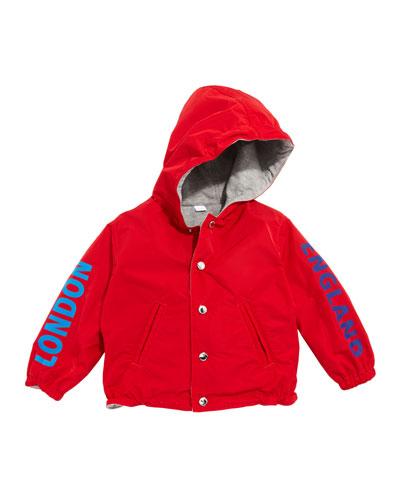 Noah Logo Graphic Hooded Jacket  Size 12M-2