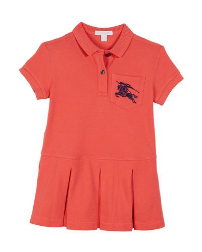 Demelza Knit Polo Dress, Size 3-14