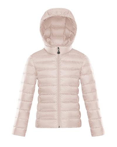Hooded Zip-Front Coat  Size 8-14