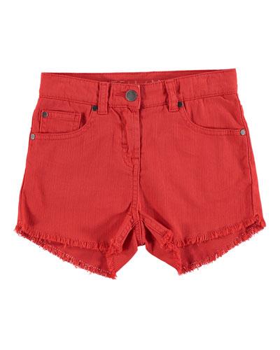 High Waist Fringe Shorts  Size 4-14