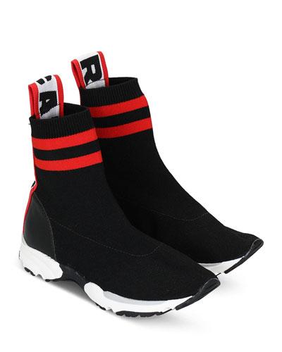 Unisex Logo Pull Tab Sneakers  Kids