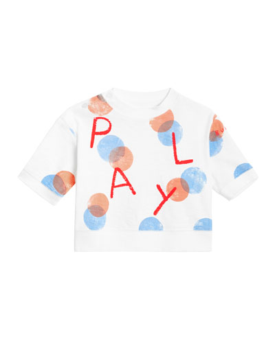 Play Long-Sleeve Spotted Top, Size 12M-2
