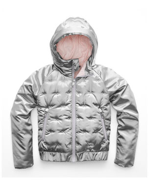 044ed5d448 The North Face Mashup Metallic X-Stitch Hooded Jacket