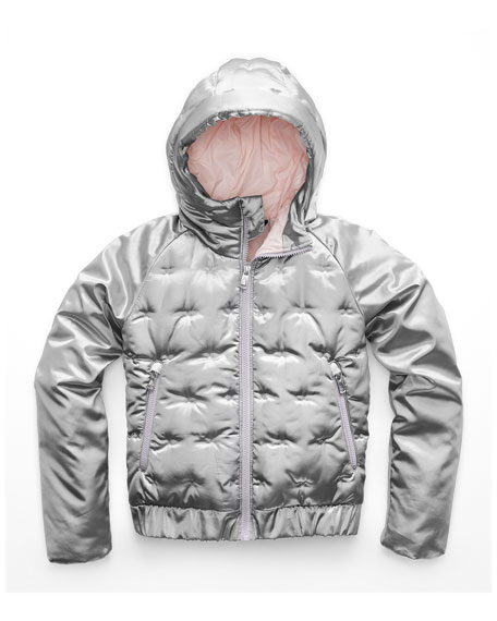 The North Face Mashup Metallic X-Stitch Hooded Jacket,