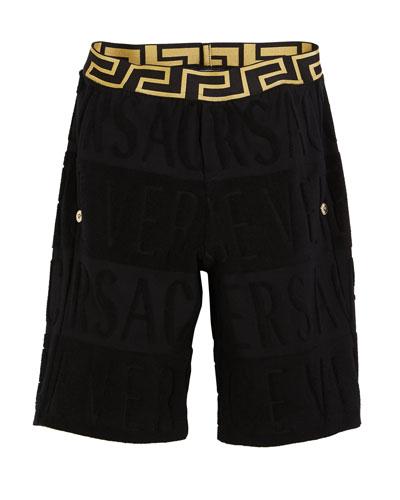 Spugna Logo Shorts  Size 4-6