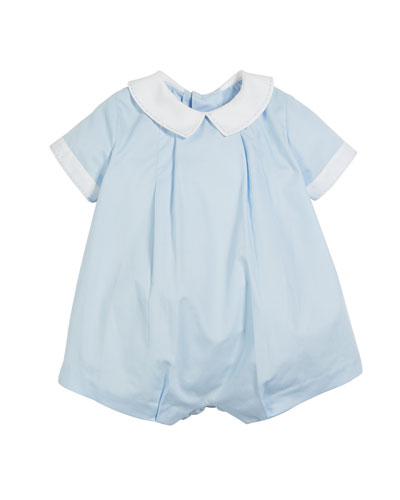Teddy Two-Tone Bubble Playsuit, Size 12-24 Months