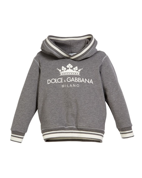 Crown D&G Logo Hoodie, Size 4-6