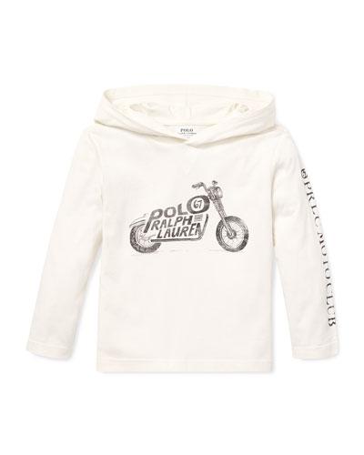 Logo Motorcycle Hooded Top, 2-4