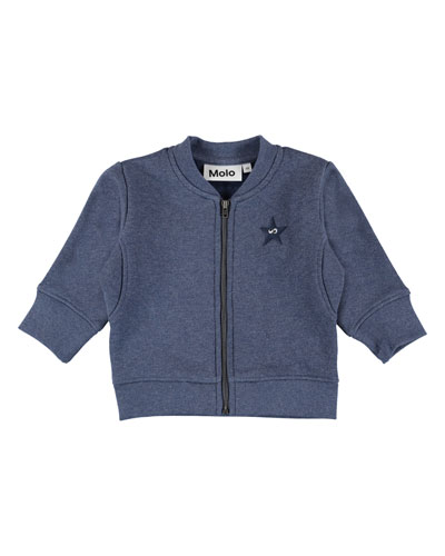 Derek Zip-Up Jacket, Size 6-24 Months