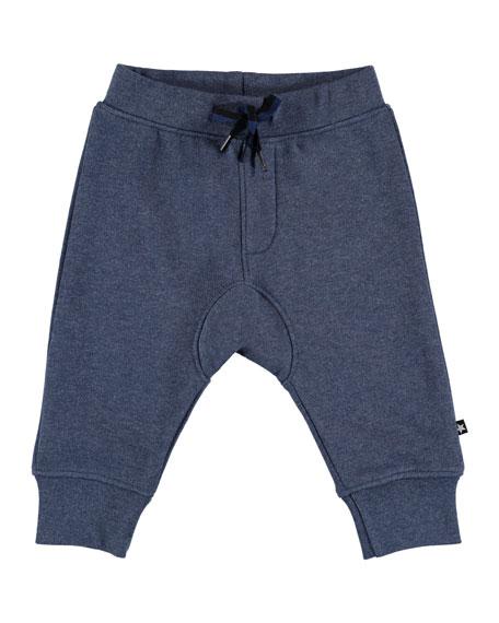 Molo Stan Knit Drawstring Sweatpants, Size 6-24 Months