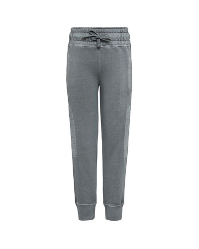 Atticus Quilted Sides Sweatpants, Size 4-12