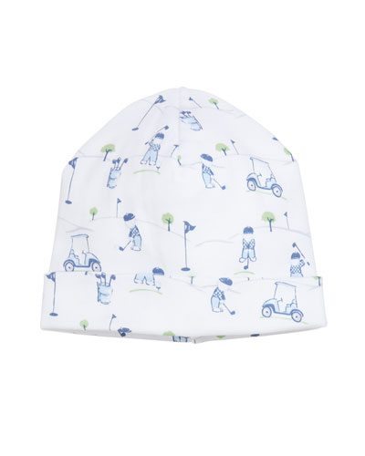 First Tee Printed Pima Baby Hat