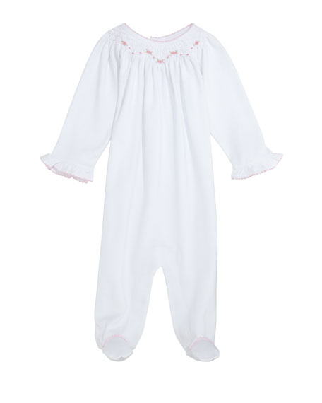 dfe9268bd8c Kissy Kissy CLB Summer Bishop Pima Footie Playsuit