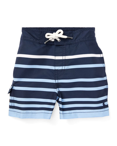 Kailua Striped Swim Trunks  Size 12-24 Months