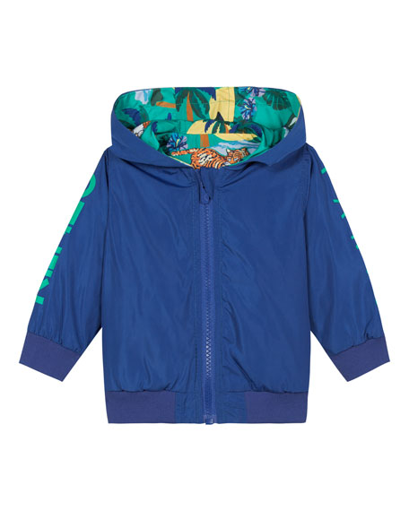 Kenzo Reversible Printed Wind Jacket, Size 12M-4