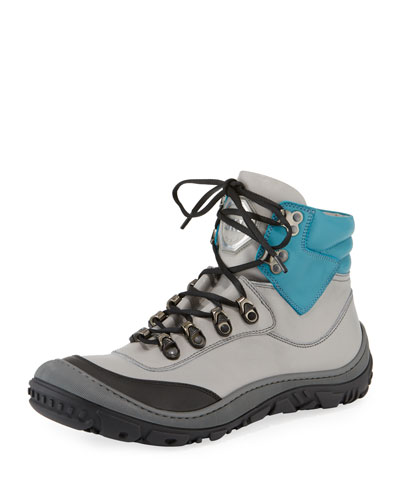 Leather Ski Boots, Kids