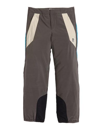 Colorblock Ski Trousers, Size 10-14