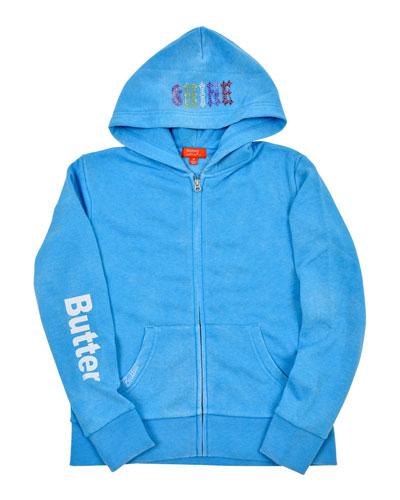 Sunshine Zip-Up Jacket, Size S-XL