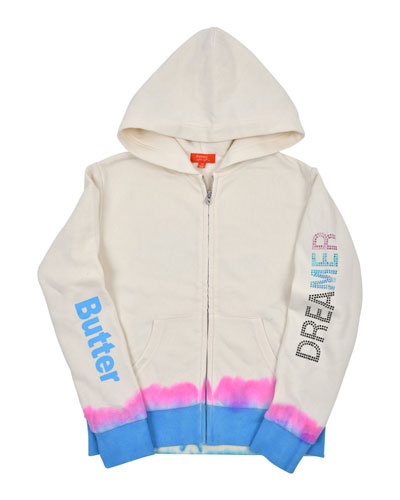 Dreamer Tie Dye Zip-Up Jacket, Size 4-6