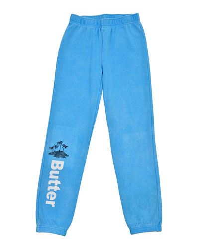 Vacay Varsity Jogger Pants, Size S-XL