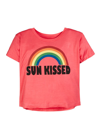 Sun Kissed Rainbow Tee  Size S-XL
