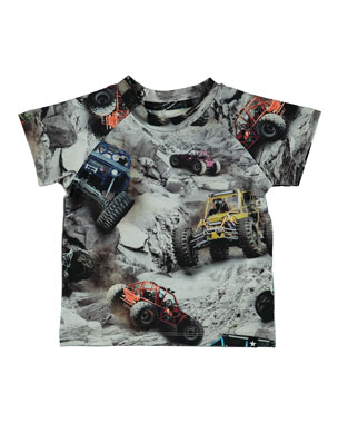 08c0b3ba5 Molo Emmett Off Road Buggy-Print Tee, Size 6-24 Months