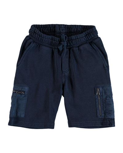 Arturo Bermuda Sweat Shorts, Size 4-12