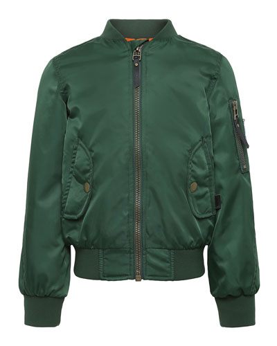 Hiker Nylon Bomber Jacket  Size 4-12