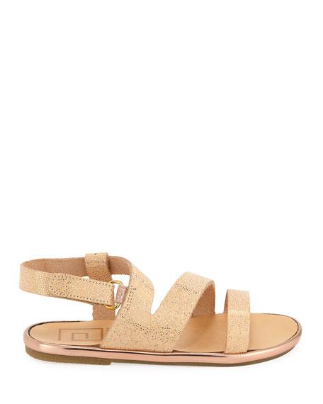1ef643cd705 Babywalker Metallic Leather Sandal