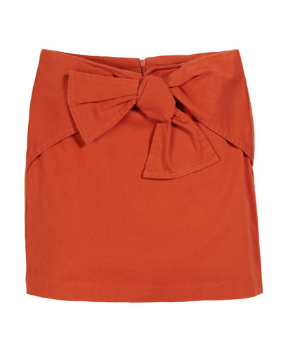 Tilly Front Bow Skirt  Size 7-14