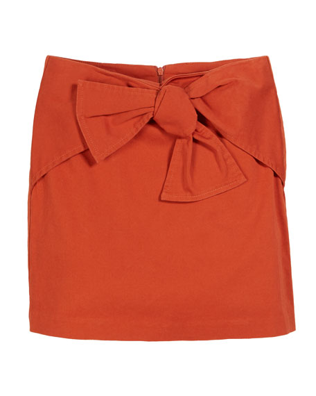 Habitual Tilly Front Bow Skirt, Size 7-14