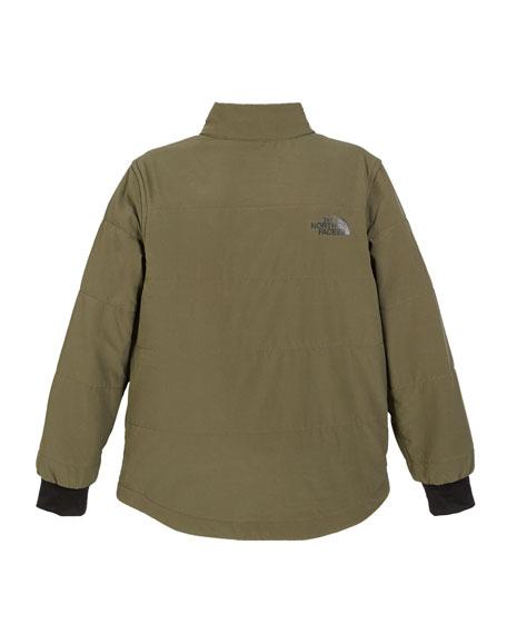 Snap Front Pullover Sweatshirt, Size XXS-XL