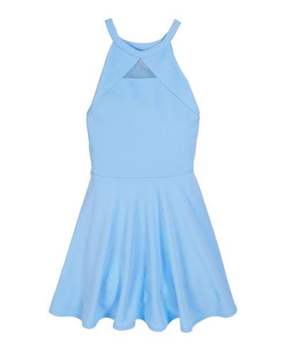 The Elise Halter Flare Dress  Size S-XL