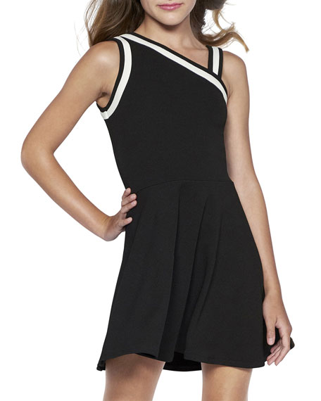 Sally Miller The Stella Two-Tone Flare Dress, Size S-XL