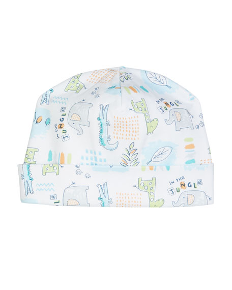 Kissy Kissy In The Jungle Pima Baby Hat