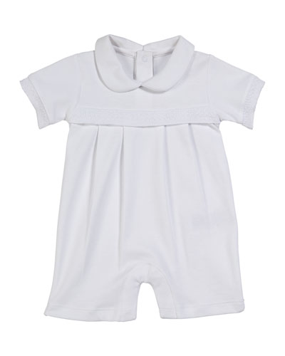 Baby Homecoming Collared Shortall  Size 0-9 Months