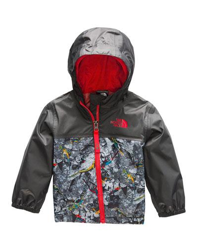 Zipline Printed Rain Jacket  Size 18-24 Months