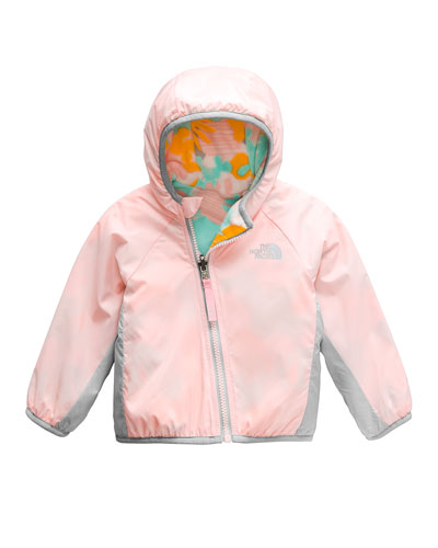 Reversible Hooded Jacket  Size 6-24 Months