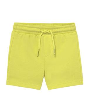 e6b8f47b418 Mayoral Basic Drawstring Fleece Shorts