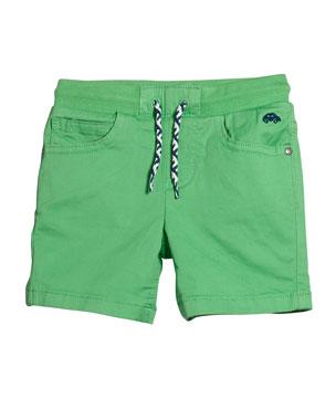 a5a2a241d49 Mayoral Boys  Drawstring Twill Shorts