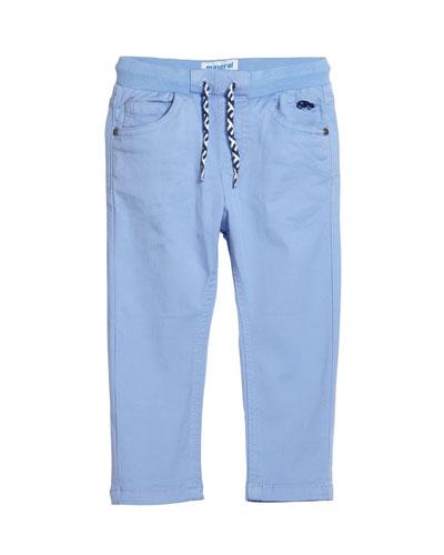 Boys' Drawstring Straight-Leg Pants  Size 12-36 Months