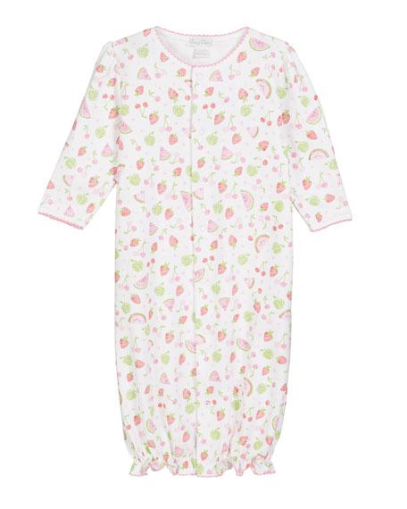 Kissy Kissy Tutti Frutti Pima Convertible Gown, Size Newborn-S