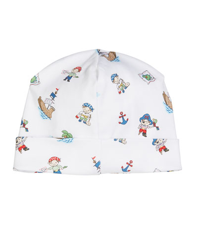 Pirate Treasure Printed Baby Hat