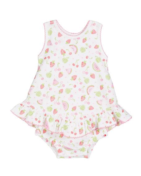 Kissy Kissy Tutti Frutti Pima Bubble Bodysuit, Size 3-18 Months