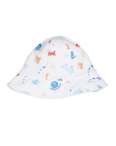 Under The Sea Floppy Baby Hat