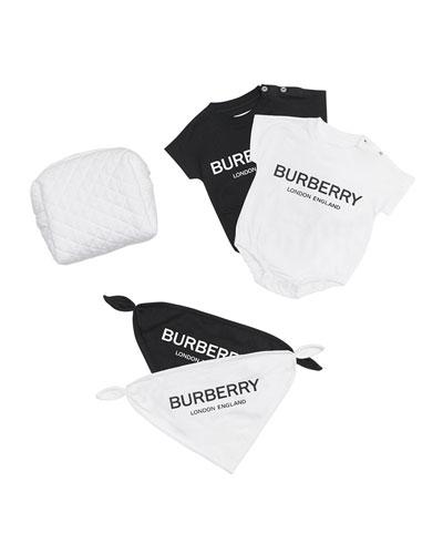 Berta Logo Bodysuits & Bibs Set  Size 3-9 Months