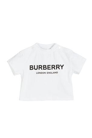 Burberry Robbie Logo Tee, Size 6M-2