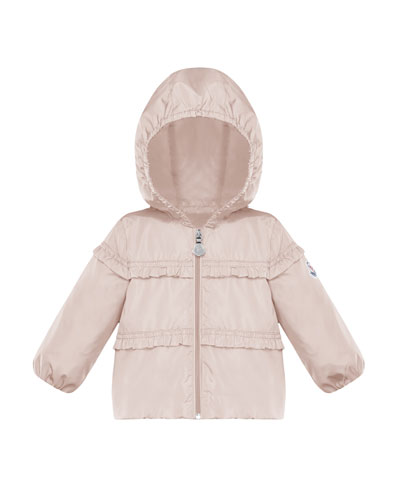 Ruffle-Trim Hooded Jacket  Size 12M-3