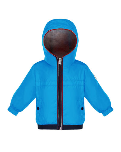 Hooded Nylon Jacket  Size 12M-3